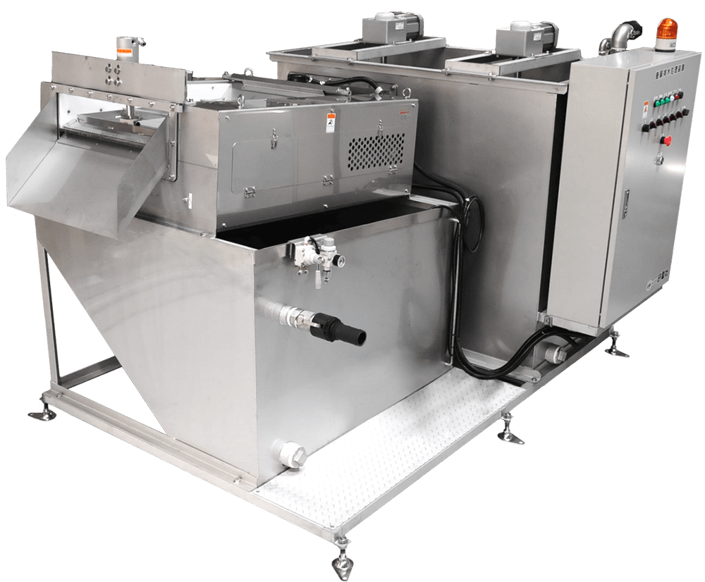 微粒子混合汚濁水 浄化処理システムスリットセーバーシステム